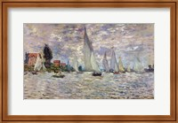 The Boats, or Regatta at Argenteuil, c.1874 Fine Art Print