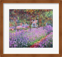 The Artist's Garden at Giverny, 1900 Fine Art Print