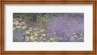 Waterlilies: Morning, 1914-18 (left section) Fine Art Print