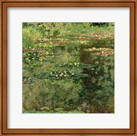 The Waterlily Pond, 1904 Fine Art Print