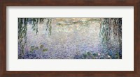 Waterlilies: Morning with Weeping Willows, detail of the central section, 1915-26 Fine Art Print