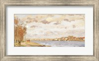 The Seine at Argenteuil, 1872 Fine Art Print