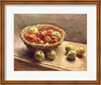 A Bowl of Apples, 1880 Fine Art Print