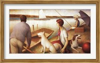 A Long Weekend Fine Art Print