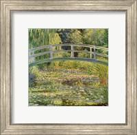 Waterlily Pond, 1899 Fine Art Print