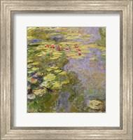 The Waterlily Pond, 1917-19 Fine Art Print