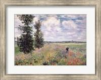 The Poppy field Fine Art Print