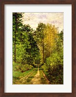 Wooded Path, 1865 Fine Art Print