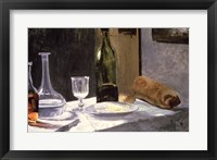 Still Life with Bottles, 1859 Fine Art Print