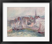 Boats in the Port of Honfleur, 1917 Fine Art Print