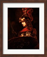 Pallas Athena or, Armoured Figure Fine Art Print