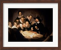 The Anatomy Lesson of Dr. Nicolaes Tulp, 1632 Fine Art Print