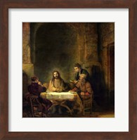 The Supper at Emmaus, 1648 Fine Art Print