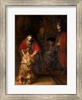 Return of the Prodigal Son, c.1668 Fine Art Print