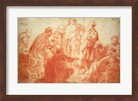 The Doubting Thomas Fine Art Print
