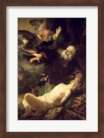 The Sacrifice of Abraham, 1635 Fine Art Print