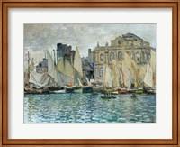 View of Le Havre, 1873 Fine Art Print