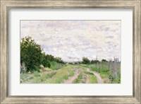 Path through the Vines, Argenteuil, 1872 Fine Art Print
