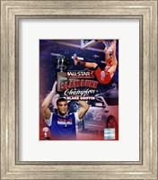 Blake Griffin 2011 NBA Slam Dunk Champion Portrait Plus Fine Art Print