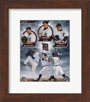 Detroit Tigers 2011 Triple Play Composite Fine Art Print