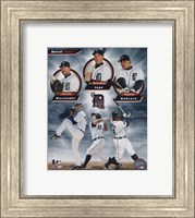 Detroit Tigers 2011 Triple Play Composite Fine Art Print