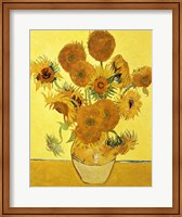 Sunflowers, 1888 yellow Fine Art Print