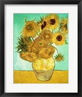 Sunflowers, 1888 Fine Art Print
