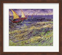 Seascape at Saintes-Maries Fine Art Print