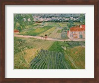 Landscape at Auvers after the Rain, 1890 Fine Art Print