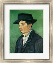 Portrait of Armand Roulin, 1888 - side Fine Art Print