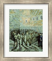 The Exercise Yard, or The Convict Prison, 1890 Fine Art Print