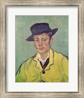 Portrait of Armand Roulin, 1888 Fine Art Print