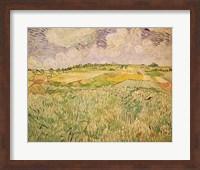 The Plain at Auvers, 1890 Fine Art Print