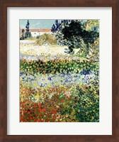 Garden in Bloom, Arles, 1888 Fine Art Print