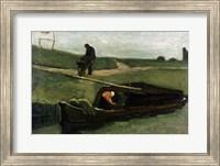 The Peat Boat, 1883 Fine Art Print