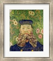 Portrait of the Postman Joseph Roulin, 1889 Fine Art Print