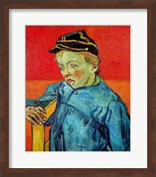 The Schoolboy Fine Art Print