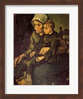 Mother and Child, 1885 Fine Art Print