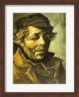 Head of a Peasant Fine Art Print