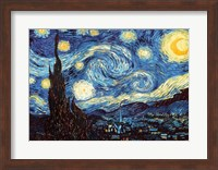 The Starry Night, June 1889 Fine Art Print