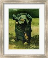Peasant Woman Digging, 1885 Fine Art Print