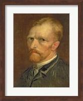 Self portrait, 1886 Fine Art Print