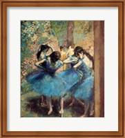 Dancers in Blue, 1890 Fine Art Print
