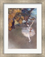 The Star, or Dancer on the Stage Fine Art Print