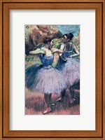 Dancers in Violet Fine Art Print