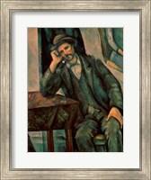 Man Smoking a Pipe Fine Art Print