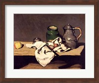 Still Life with a Kettle, c.1869 Fine Art Print