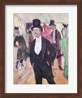 Monsieur Fourcade, 1889 Fine Art Print