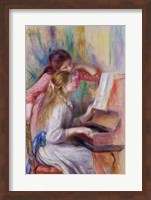 Young Girls at the Piano Fine Art Print