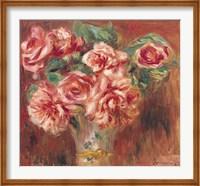 Roses in a Vase, c.1890 Fine Art Print